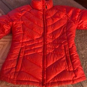 The Northface woman's  puffer coat